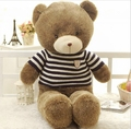 2015 New Short Flur  Bear  Plush Toys Soft Stuffed Animal Dolls Classic Toy 60 CM 22'' Kids Gift 3 Color Available