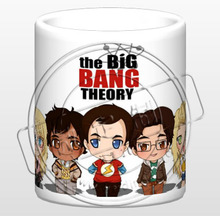 Q version der big bang theory keramik kaffee milch tee frühstück cartoon tasse film tasse becher trinkbehälter LIMITED EDITION
