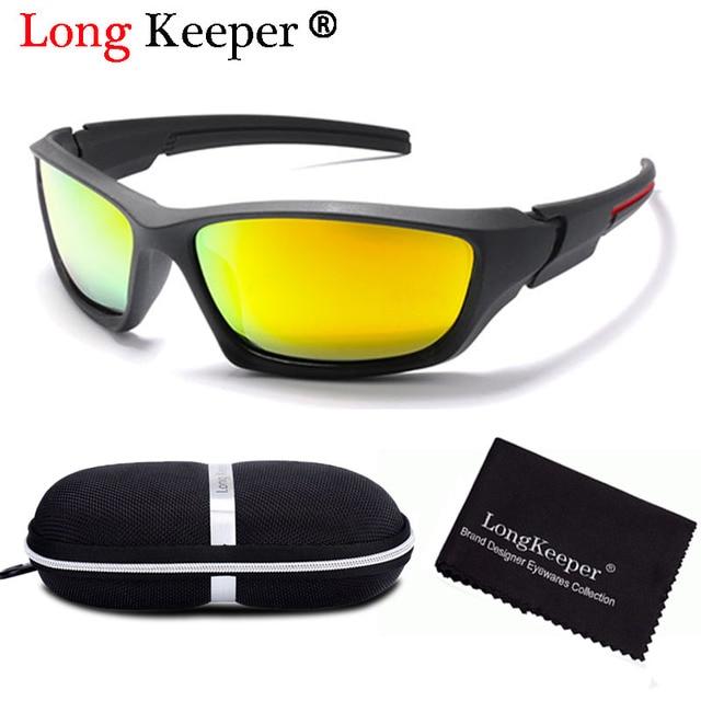 72dff9c472 Men Driving Sunglasses Brand Design Men Polarized Sun Glasses Male Square Glasses  Night Vision Eyewear UV400 Shades with Case