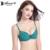 Annajolly mulheres sutiã de renda ajustável sexy roupa interior lingerie underwire bras moda café preto verde frete grátis m9043