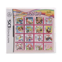 Nintendo NDS 520 IN 1 Video Game Cartridge Console Card