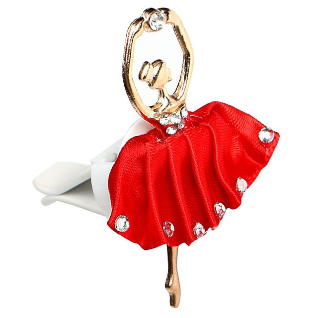 Air Freshener In The Car Perfumes Auto Flavoring for Car Ballet Girl Air Freshener Smell Styling Decoration Air Vent Accessories