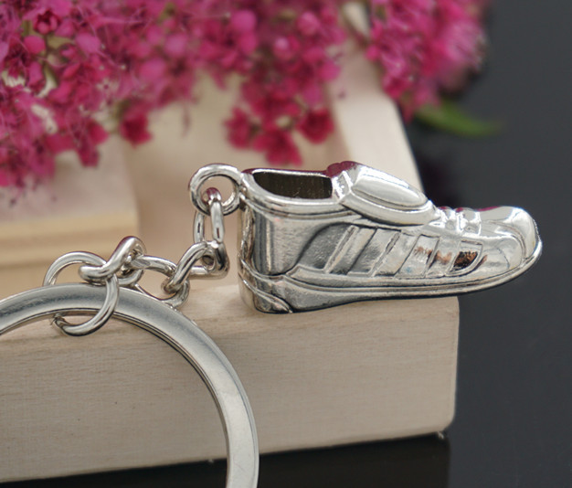 Soccer Shoes Football Stainless Steel Key Chain