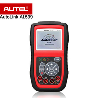 Autel AutoLink AL539 OBDII/CAN Scan Tool/Code Reader/Electrical Test Tool for Complete Diagnosis / Multimeter Turns off MIL etc.