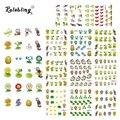 2017 Nova Chegada Engraçado Plantas E Animais Série etiqueta do prego Design de Moda Nail Art Sticker Nail Stickers Set