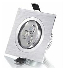 Hot sell 6W AC85~260V LED Spotlights Square Led Ceiling Spot