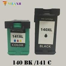 ФОТО for hp 140 141 ink cartridge for hp photosmart c5283 c4283 c4483 deskjet d4263 d4363 officejet j6413 j5783