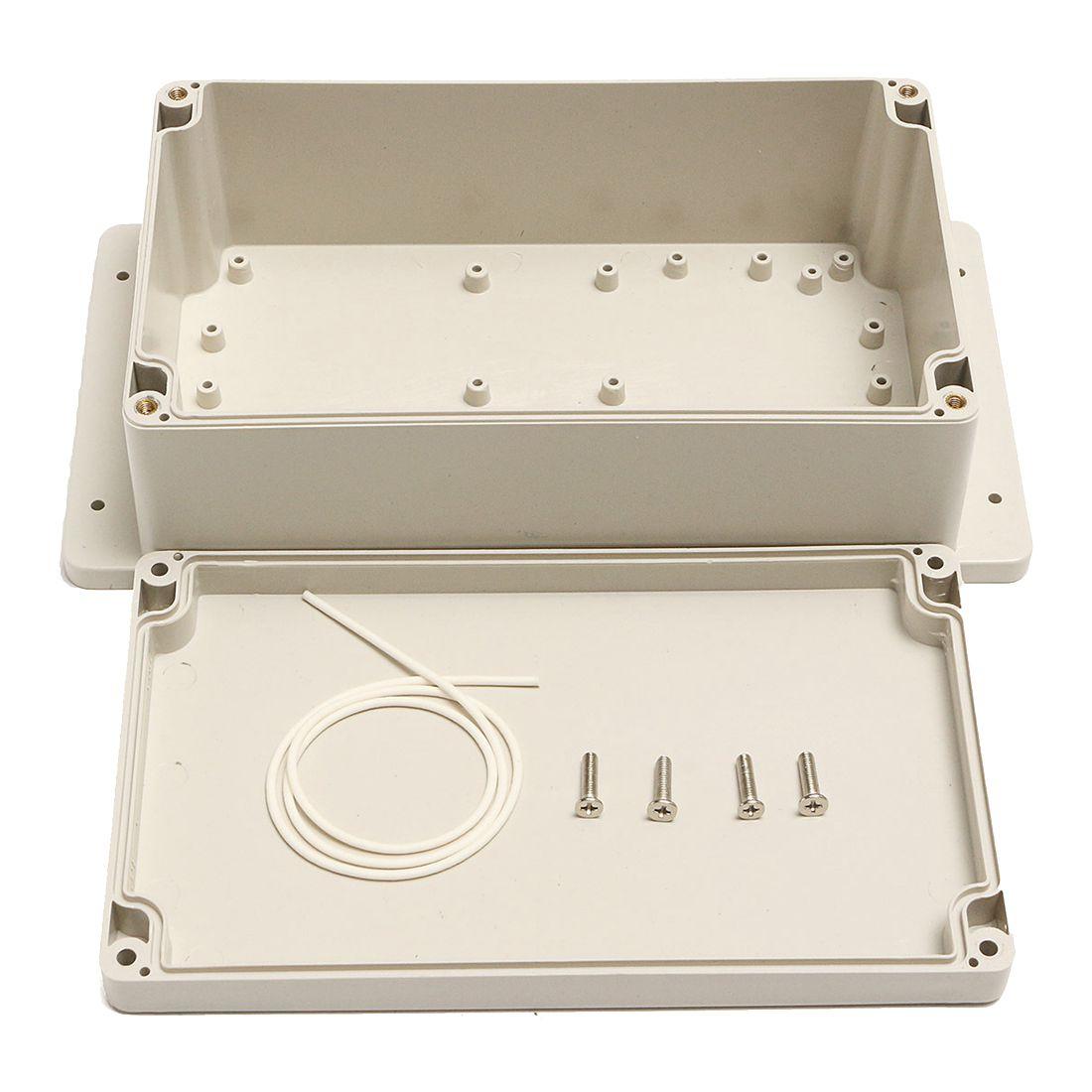 Étanche En Plastique ABS Boîtier de Projet Électronique 200x120x75mm Blanc