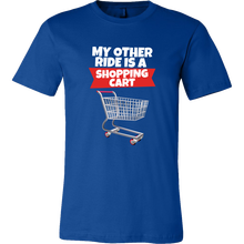 Fort Shopping Cart Ride Mens T-Shirt Free shipping Harajuku Tops t shirt Fashion Classic Unique t-Shirt