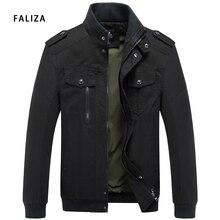 Men Jacket Military-Army Plus-Size Winter FALIZA Cotton Masculina Casual JK119 Jaqueta