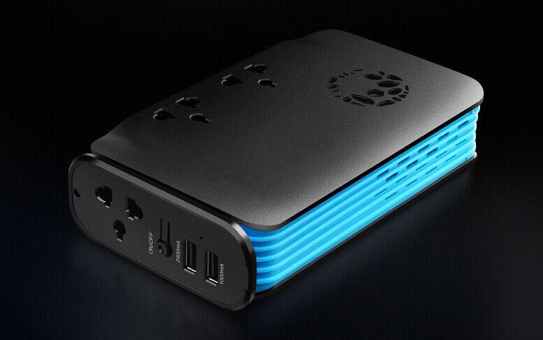1 pièce multi-fonction voiture onduleur pour camion DC 24 V à 220 V AC voiture chargeur prise 200 W avec USB