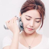 3D Waterproof Wireless Electric Hand Held shiastu Massager Head Scalp Massager Device Face Spa Massager Thin Face Lifting Tool