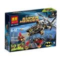 Bela 10226 Super Heroes Man-Bat Attack DIY Building Block Sets Toys Batman v Superman Education Toys Compatible With .