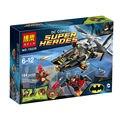 Bela 10226 super heróis homem-morcego ataque diy building block define brinquedos batman v superman brinquedos educativos compatíveis com.