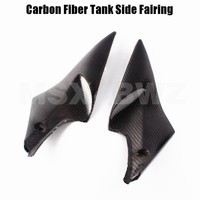 New Motorcycle Carbon Fiber Tank Side Cover Panel Fairing For Suzuki GSXR 600 750 2006 2007