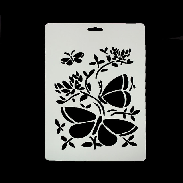 diy scrapbooking butterfly squid template baking kitchen decorating