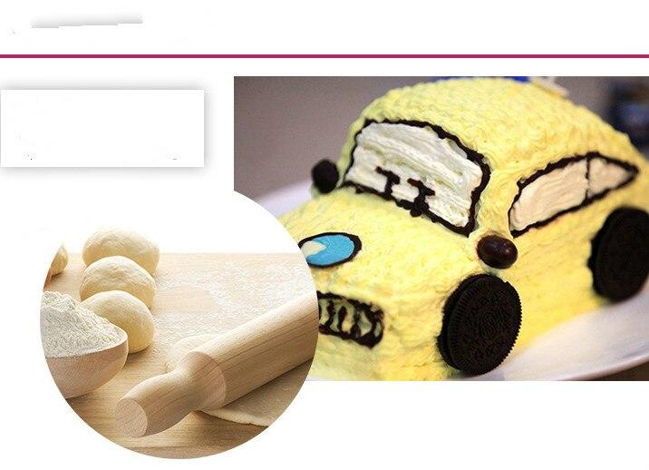 1pcs Car Shape Silicone DIY birthday Cake Mold 3D Fondant Soap ...