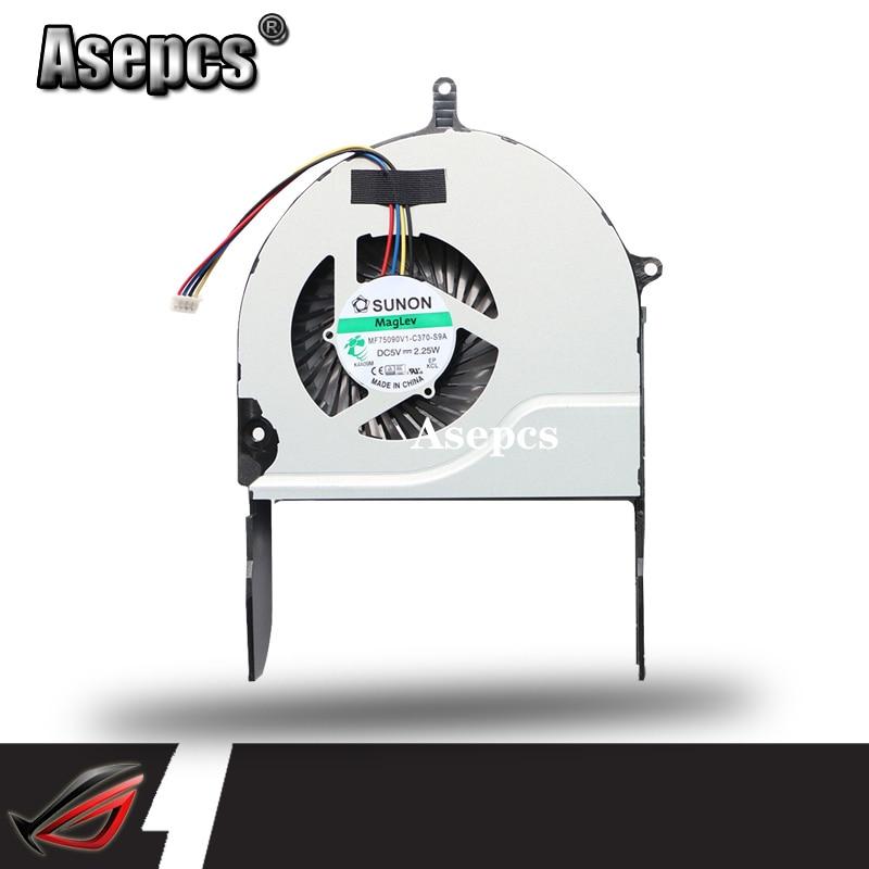 New Original Asus N751 N751J N751JK Cpu Cooling Fan MF75090V1-C370-S9A
