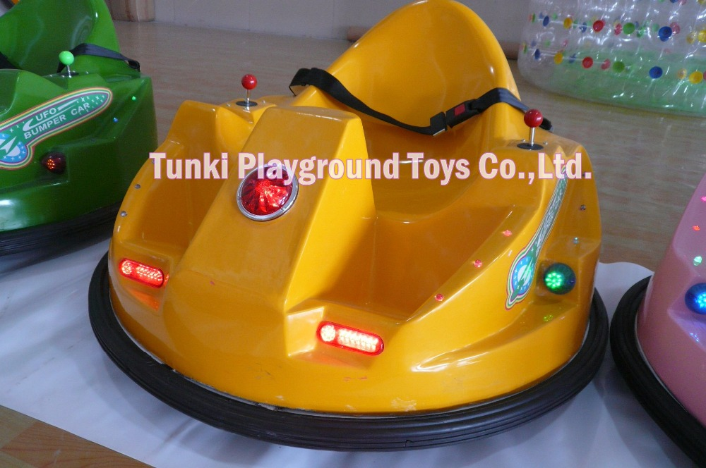 Adults Ride Exciting Inflatable Bumper Car