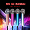 Fashion Portable Mini Microphone Stereo Condenser Mic For IPhone IOS Android Smartphone PC Laptop Chatting Singing Karaoke