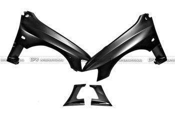 Carbon Fiber + FRP Fiber Glass Front Vented Fender For Evolution EVO 8 9 Varis Aero GT Car Styling Car Accessories