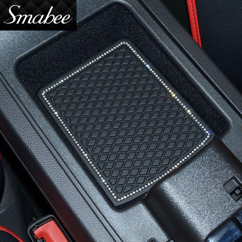 Estera de la ranura de la puerta Smabee para 2008 ~ 2015 Toyota Land - Accesorios de interior de coche