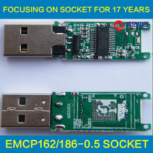 eMMC 153 169 eMCP 162 186 U disk PCB major controller accessories without flash memory for recycle emmc emcp chips
