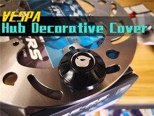 Marus Voorwiel Decoratie wielnaaf Decoratieve cover Voor piaggio vespa gts gtv 300 Sprint 150 Lente 150 Primavera 150