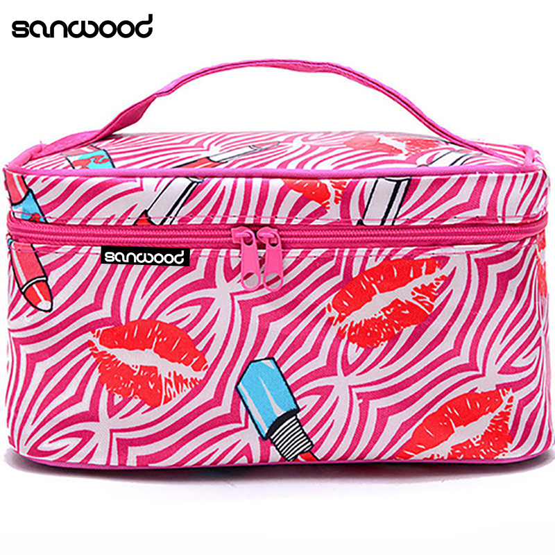 Women Multifunction Travel Cosmetic Bag Makeup Case Pouch Toiletry Organizer цена