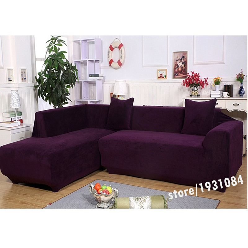 Ordinaire Aliexpress.com : Buy Elastic Sofa Cover For Living Room Plus Velvet Fabric  Slip Resistant Sofa Cover Thicken Sofa Towel Single/Two/Three/Four Seat  From ...
