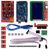 3D Printer Kit With RAMPS1 4 Mega 2560 5pcs A4988 With Heatsink LCD 12864 Graphic Smart