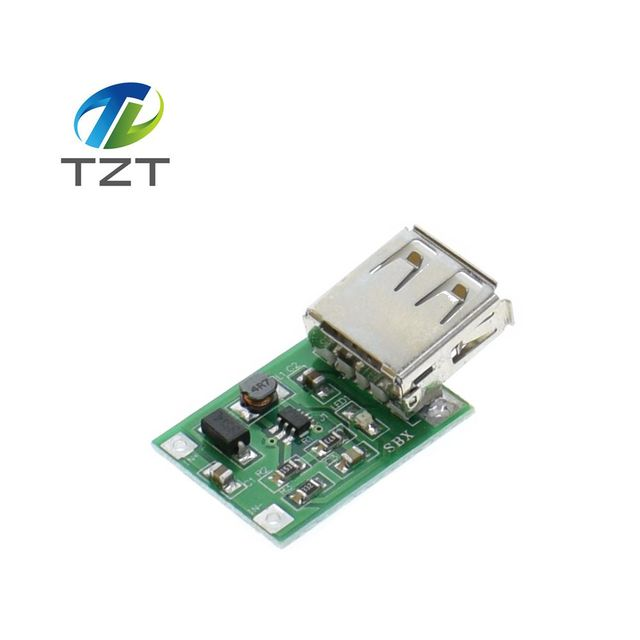 10PCS 0.9V ~ 5V to 5V 600MA USB Output charger step up Power Module Mini DC-DC Boost Converter