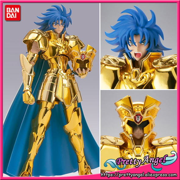 PrettyAngel - Genuine Bandai Saint Cloth Myth EX Saint Seiya Gemini Saga Collection Figure cmt in storelc model gemini saga kanon saint seiya myth cloth gold ex gemini saga kanon action figure