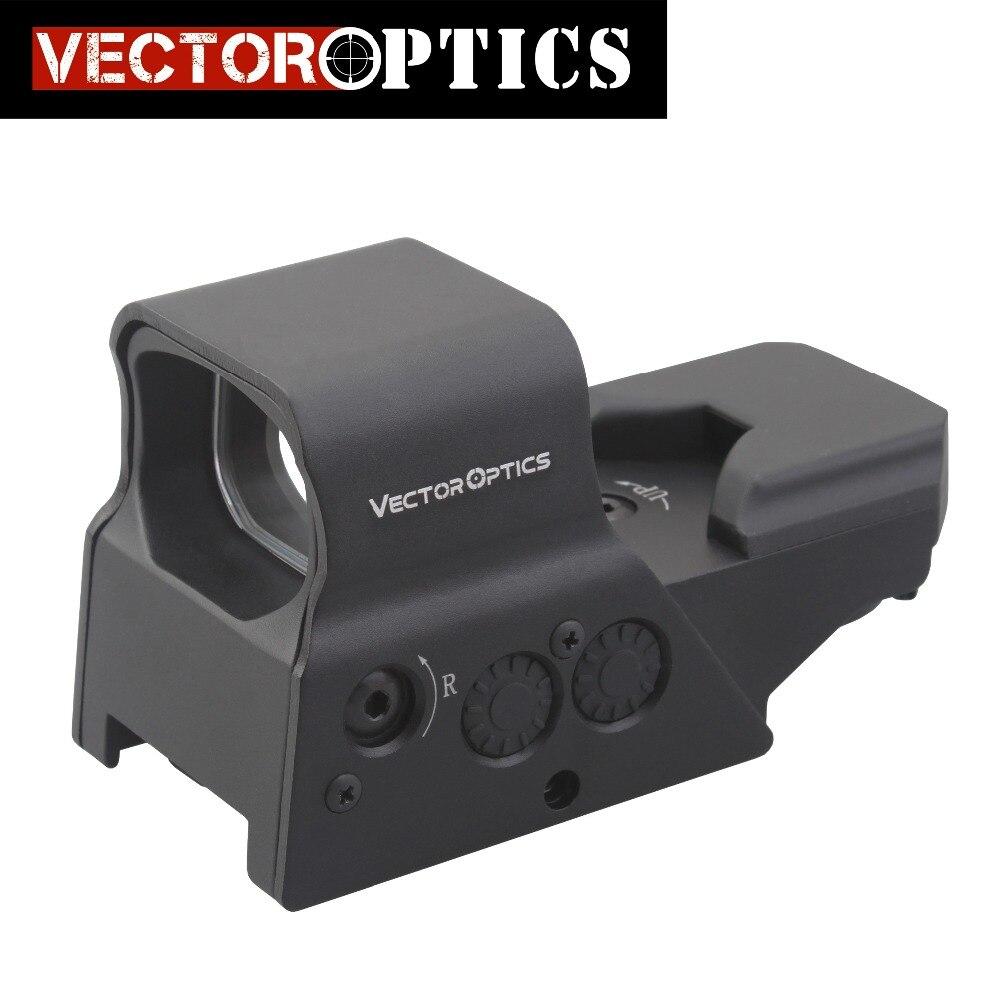 Ótica do vetor Omega 8 Reticle Reflex Red Dot Sight Tactical High End Qualidade Scope apto para. 223 AR15 7.62 AK47 12ga