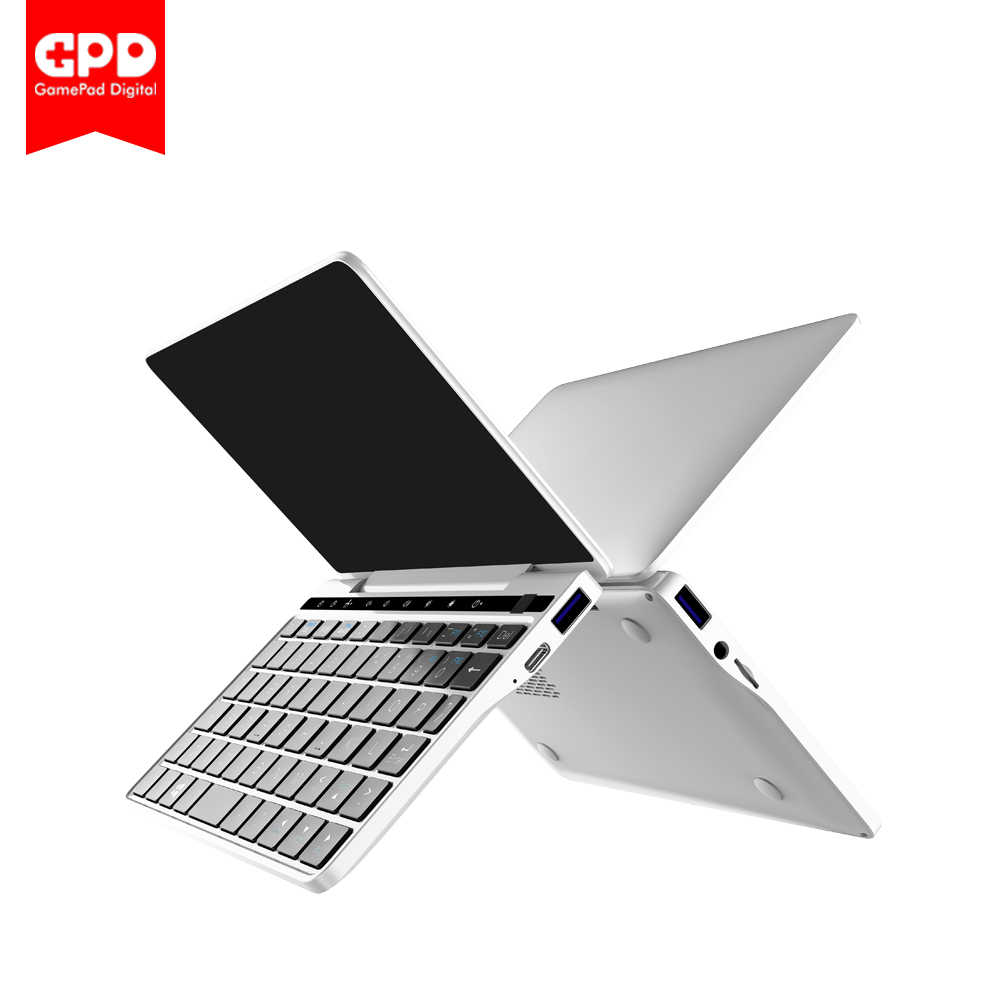 "Nouveau GPD Pocket2 ordinateur portable 7 ""Mini ordinateur portable de poche UMPC Windows 10 système CPU m3-8100y 8 GB/128 GB WiFi/Bluetooth ordinateur portable"