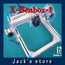 X-Benbox-1, 500 mw DIY máquina de grabado láser, bricolaje máquina de marcado, diy máquina de grabado láser, juguetes avanzados