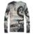 Nova Marca de Moda masculina Homens Dragão 3D Padrão Fino de Malha Fina Camisola Ocasional Pullovers Camisa Pull Homme Qualidade Superior T144