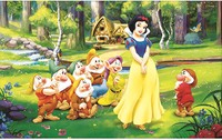 Home Beauty 3d Diy Full Diamond Painting Embroidery Kits Crystal Rhinestone Picture Diamond Mosaic Snow White