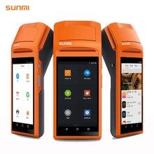 5.5 «Дисплей Wi-Fi/3 г/Bluetooth ручной Мини Android pos терминала с Термальность принтер, сканер штрих-кода
