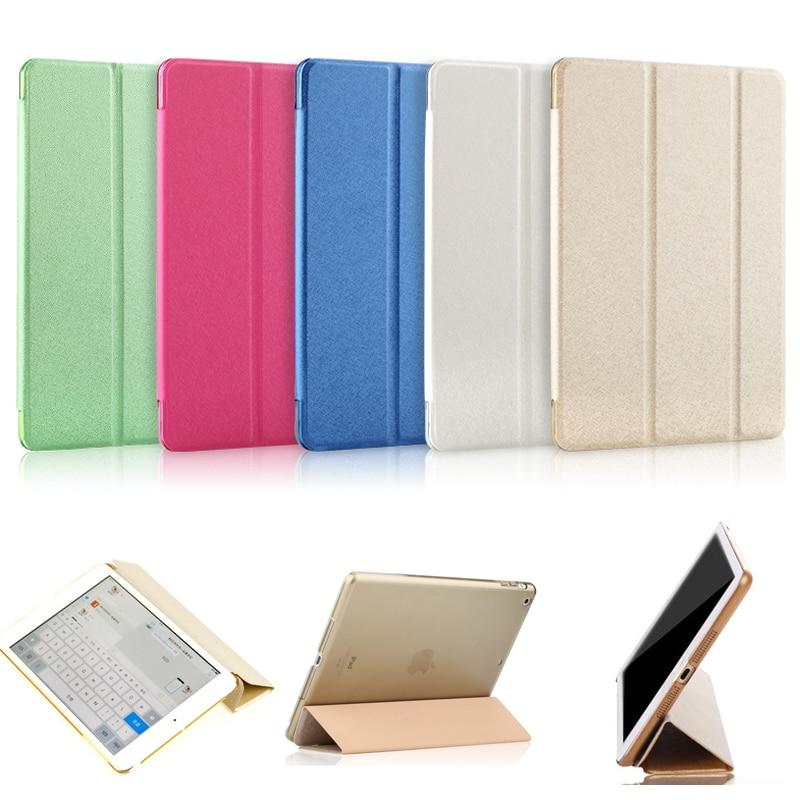 For iPad Mini 1 2 3 Case Leather Stand Support Flip Transparent Smart Case For iPad Mini 3 2 1 Cover Capa Foldable Case For Kids for ipad mini