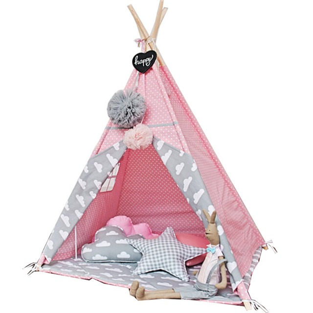 New design children game room kids play house Indian children tents children play tent Kids Teepee  sc 1 st  AliExpress.com & New design children game room kids play house Indian children ...