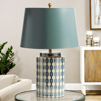 European Garden Ceramics Table Light Home Study Rooms Are Modern Living Room Lamp Bedroom Bedside Lamp