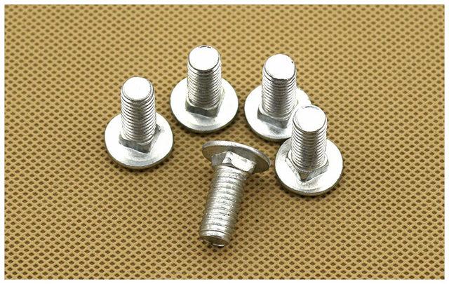 Titanium Screw M8 x 16-50 Conical Din 912 Grade 5 Black