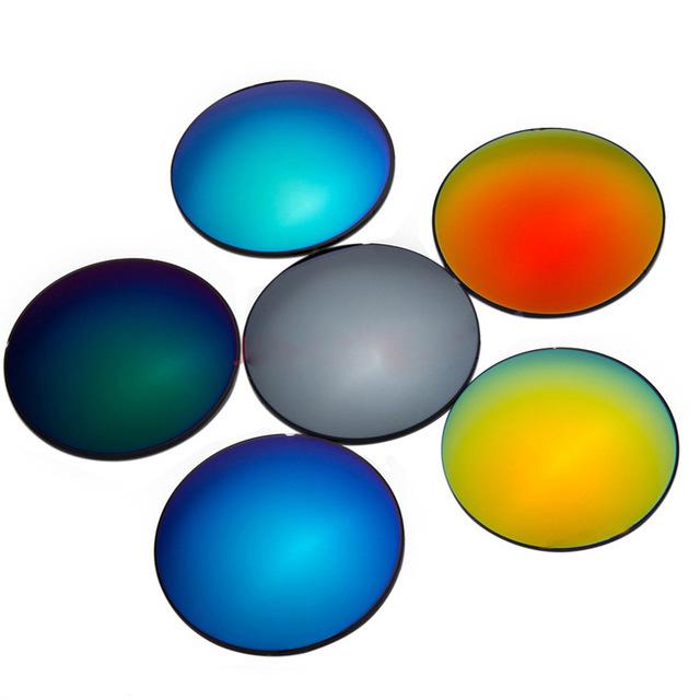 1.61 de proteção UV 400 lentes de óculos de sol de mercúrio sol colorido lentes miopia