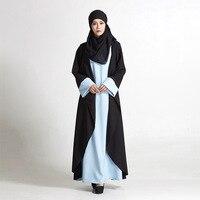 אופנה שמלה מוסלמית סגנון מטוטלת שמלת Ladiese האיסלאם הערבית בנות שמלות נשים Loose