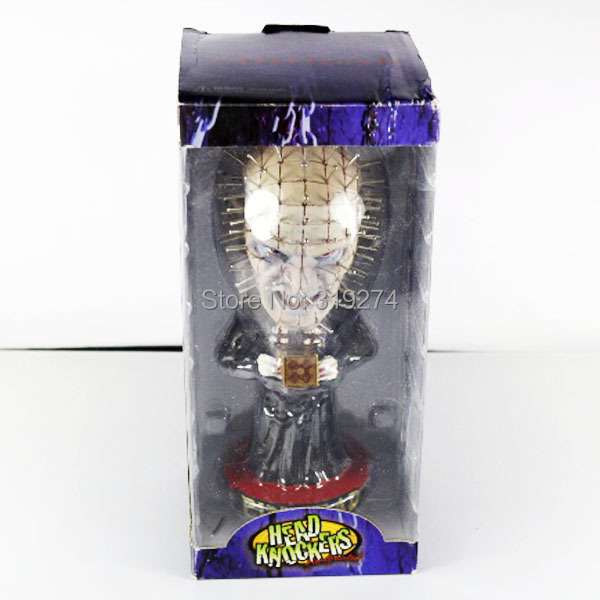 Neca hellraiser pinhead head knockers action figure for Application box decoration