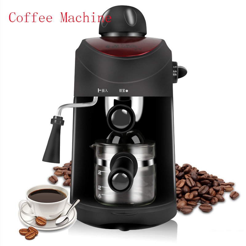 automatic espresso coffee machine Italian high-pressure coffee machine espresso small commercial steam CM-8009 automatic espresso coffee maker coffee machine high pressure steam espresso machine milk bubble machine