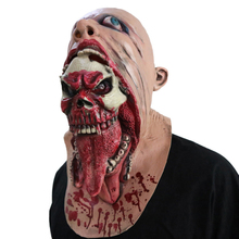 Halloween Horror Skull Mask Bloody Ghost Party Latex Zombie Costume Dead Head Haunting Blood Masks