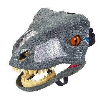 Jurassic Welt 2 Sound effekte Dinosaurier Maske FMB74 Jungen Spielzeug Geschenk BLAU