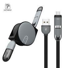 2 in 1 Type C Port +Micro USB Cable  Android